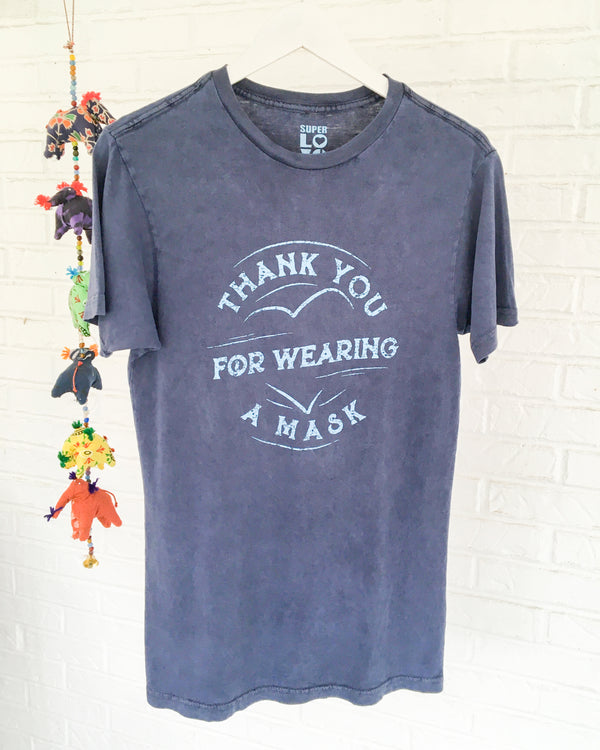 THANK YOU FOR WEARING A MASK -  Cotton Unisex Tee