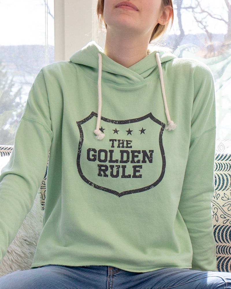 The Golden Rule - Sage Pullover Hoodie