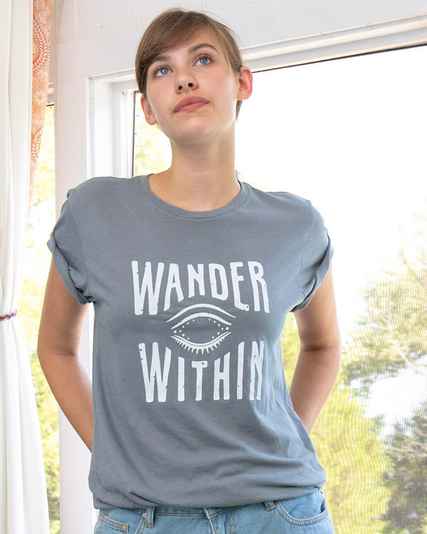 Wander Within - Organic Cotton Unisex Tee