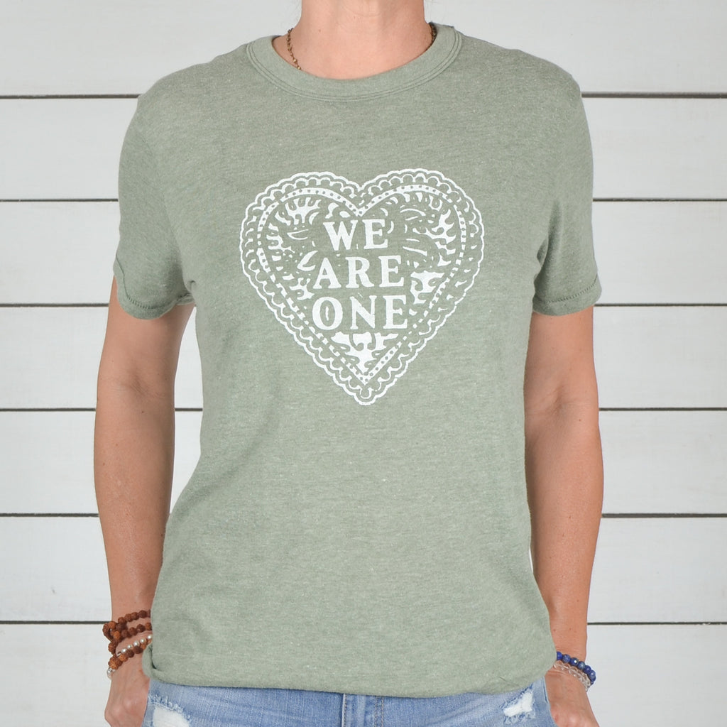 We Are One - Sage Soft Unisex Tee