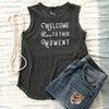 Welcome to this Moment -  Cotton Muscle Tee