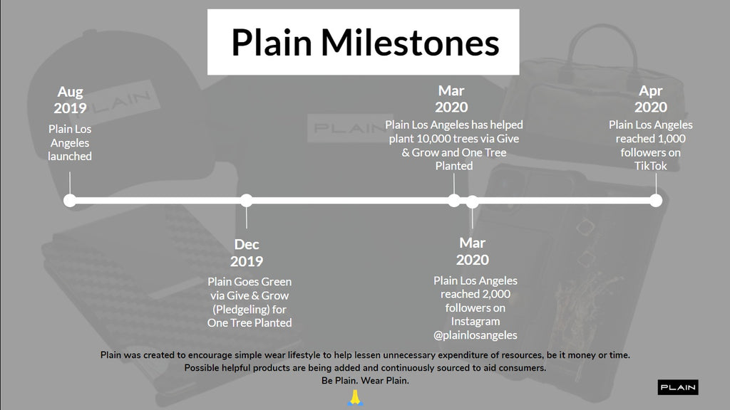 plain los angeles mile stones achievements pr