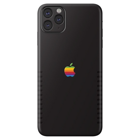 Apple Retro iPhone Case