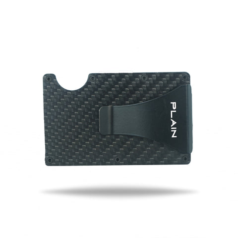 PLAIN Wallet in Carbon Fiber