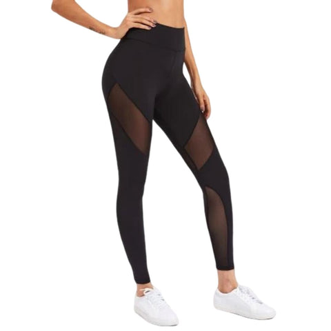 Active Panel Zip Leggings