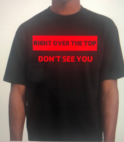 Right Over The Top T-Shirt (Block)