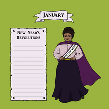 Load image into Gallery viewer, Suffragette Calendar 2021
