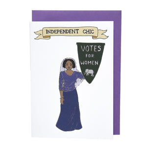 Independent Chic card