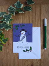 Load image into Gallery viewer, Snow Suffragette Christmas Card
