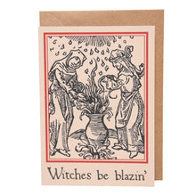 Load image into Gallery viewer, Witches Be Blazin' card