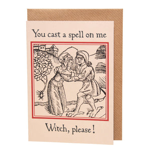 Witch, Please! card