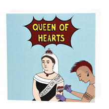 Load image into Gallery viewer, Queen of Hearts card