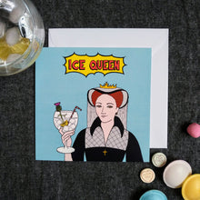 Load image into Gallery viewer, Ice Queen card
