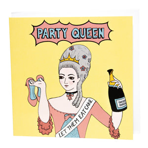 Party Queen card