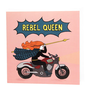 Rebel Queen card