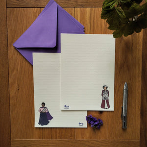 Notes For Women notepaper set