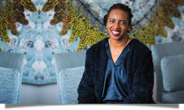 Skin care entrepreneur and Eu2Be founder Charla Jones shot by Holly Rike for The Boston Improper
