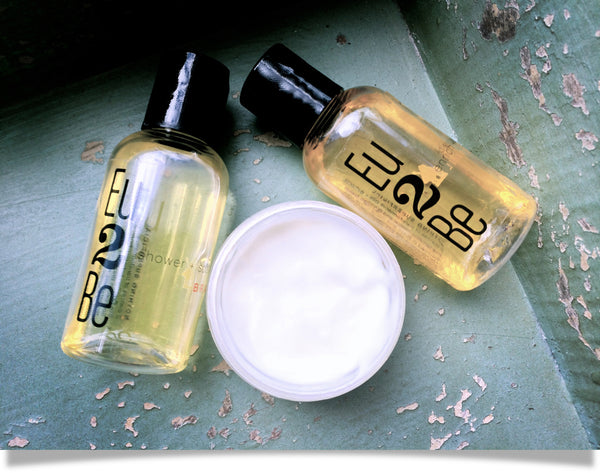 Photo by Ginger & Aloe for their natural skincare review of Eu2Be