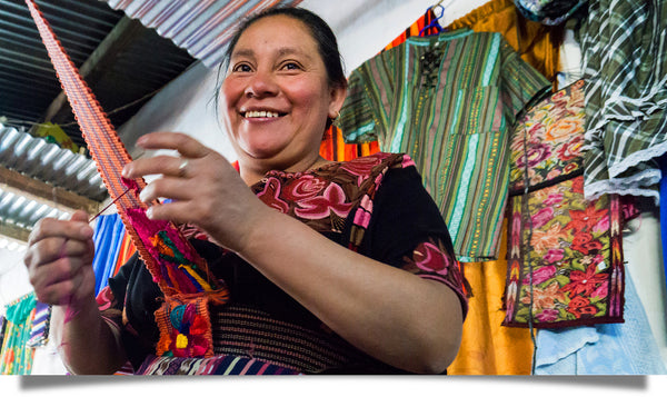 Women of the Chontalá weavers' artisan co-op thrive.