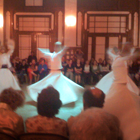 life moves fast like Istanbul's whirling dervishes
