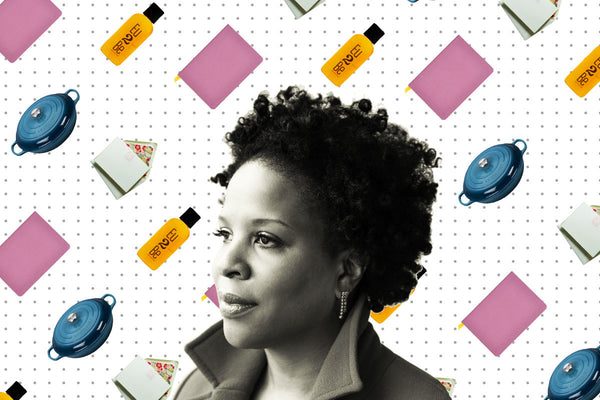 Author Tayari Jones on best body oil for dry, ashy skin