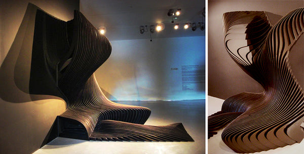 Zaha Hadid Architects Cirrus chair Contemporary Arts Center Cincinnati