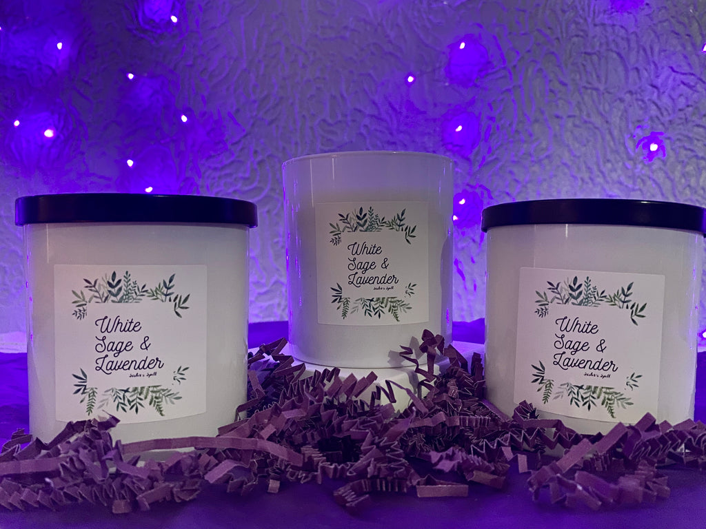 White Sage & Lavender Soy Candle