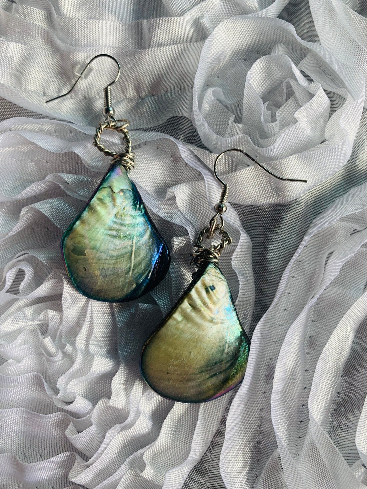 Glass Earrings