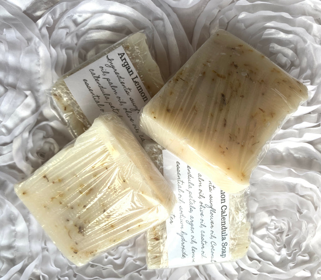Argan Lemon Calendula Soap