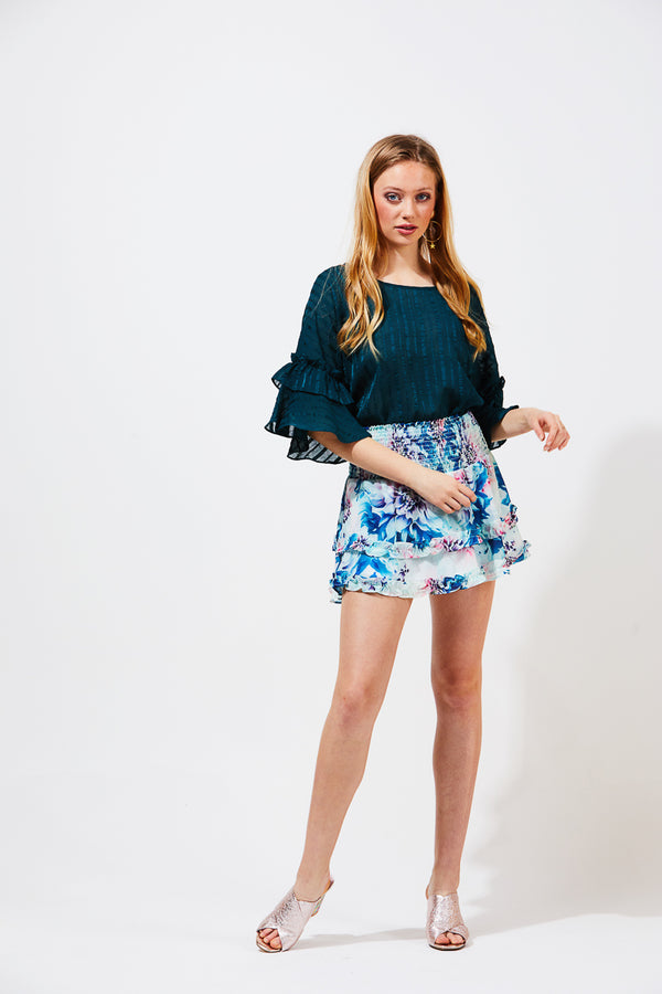 WILLOW SKIRT - BOTANIC PRINT