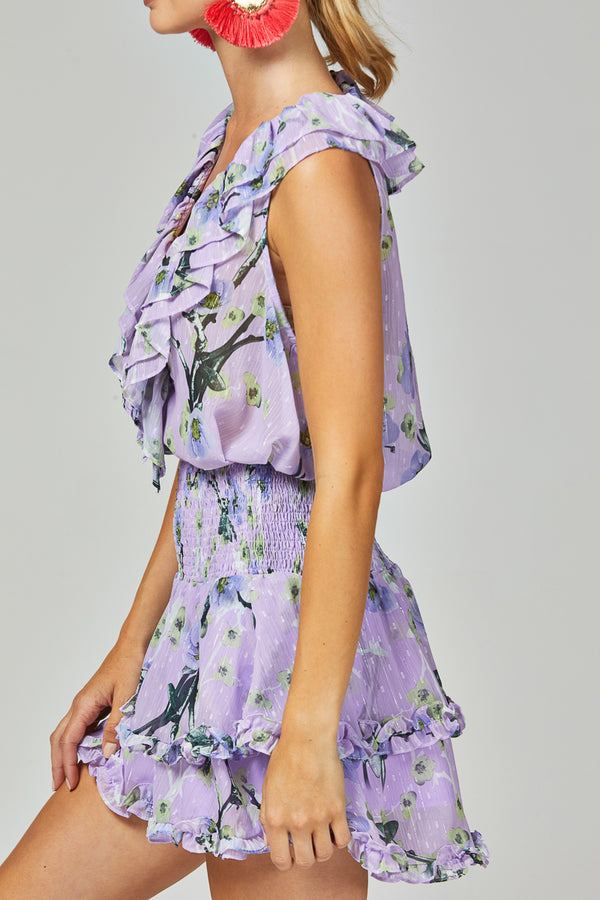 WILLOW SKIRT - LILAC FLORAL