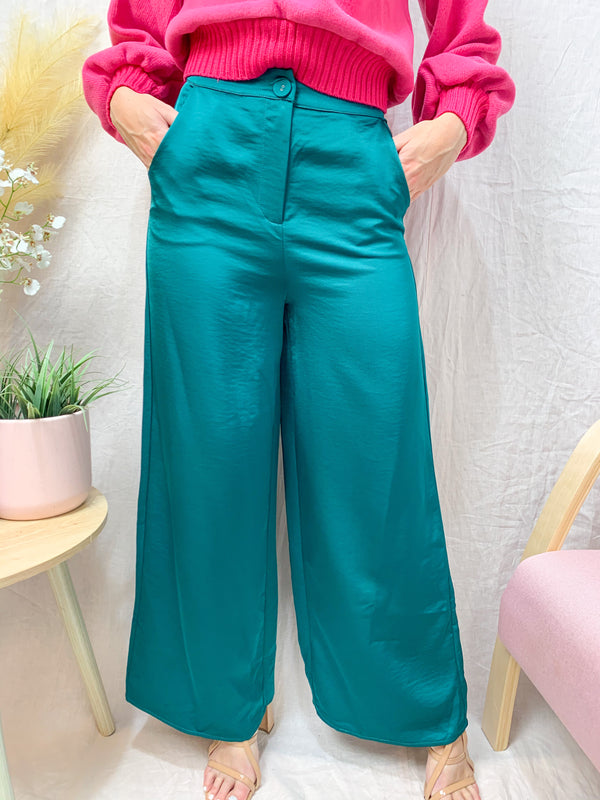 ELIZA PANTS - EMERALD