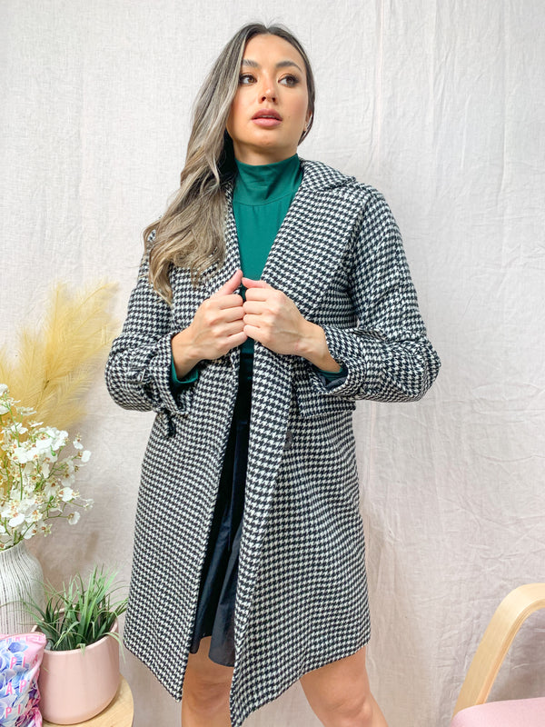 MAEVE COAT - TWEED