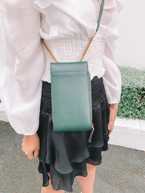 PENELOPE BAG - EMERALD