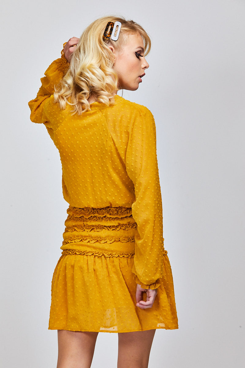 MCKENNA DRESS - MARIGOLD