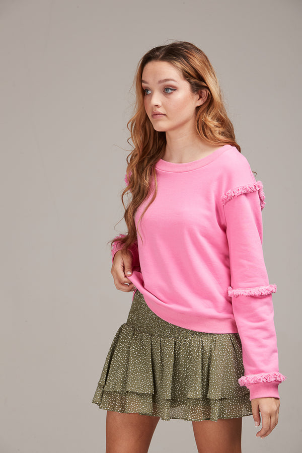 NINA JUMPER - LOLLY PINK