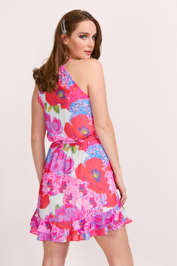 DELILAH DRESS - BLOOM PRINT