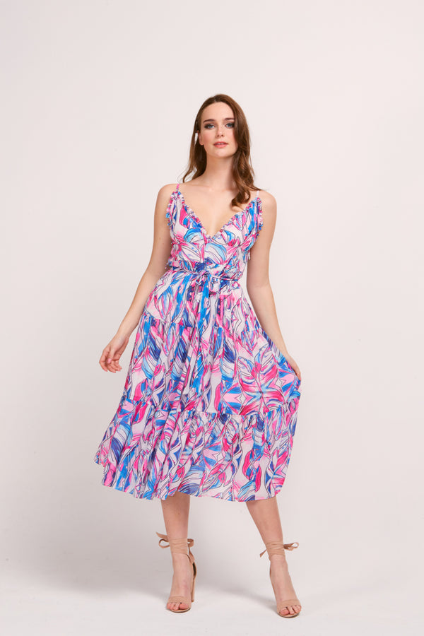 TILLY DRESS - TUMBLE PRINT