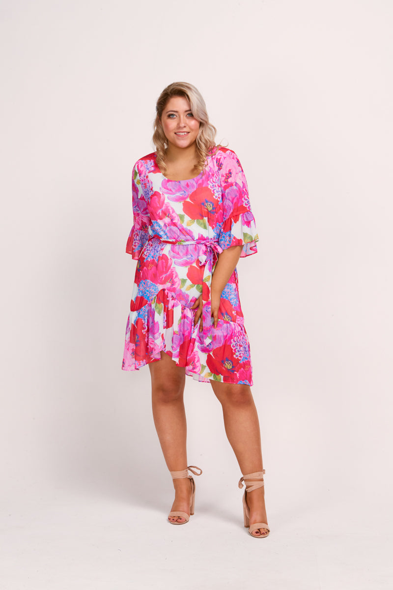 MILA DRESS - BLOOM PRINT