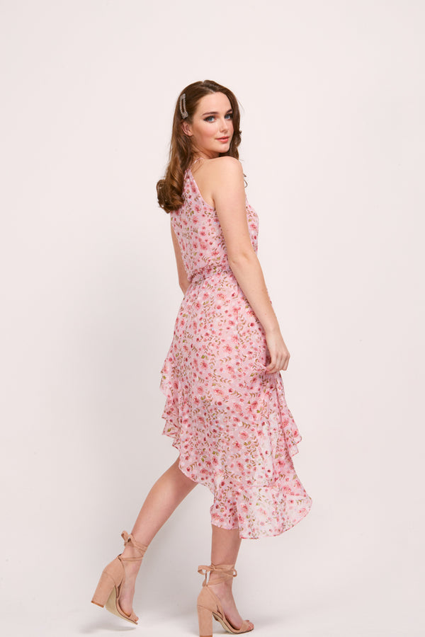 MAGDALEN DRESS - PINK BLOSSOM