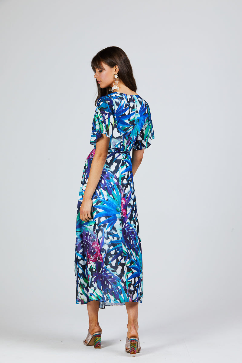MIA DRESS - TROPICAL PRINT