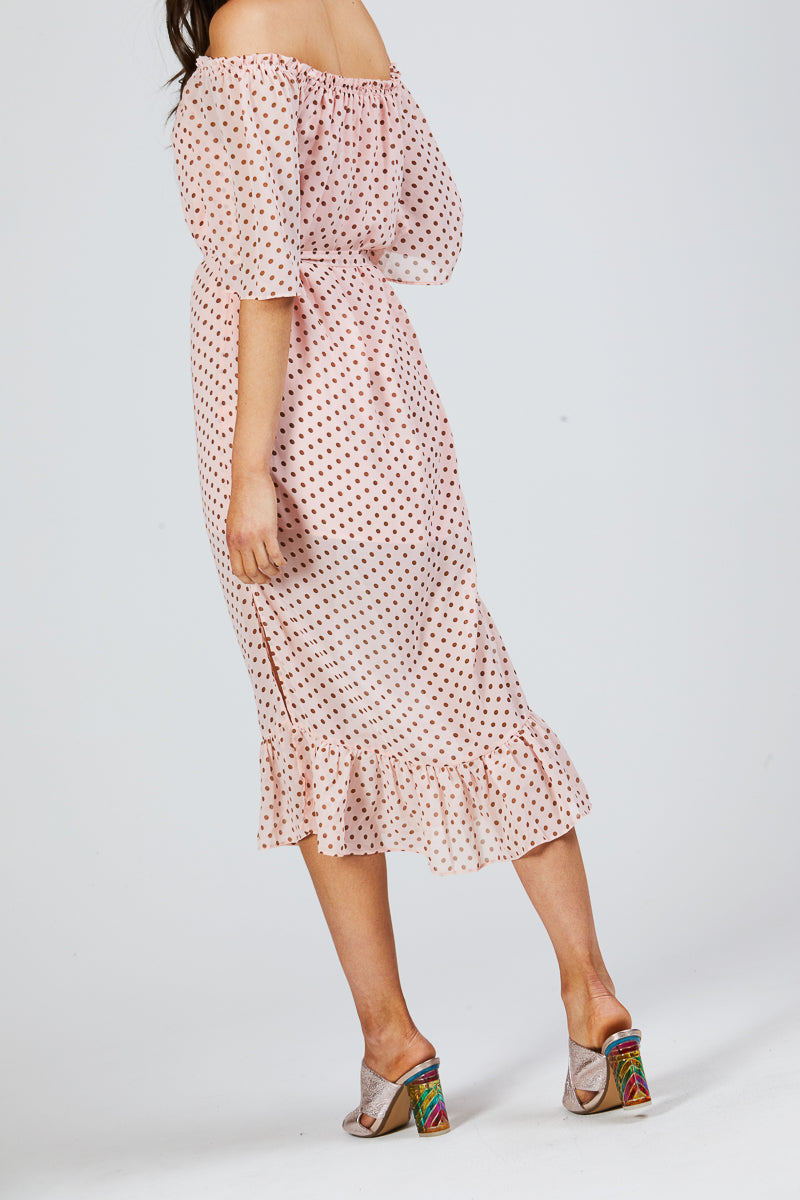 AYLA DRESS - POLKADOTTS