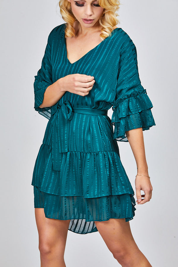 ESME DRESS - EMERALD