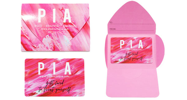PIA Gift Card