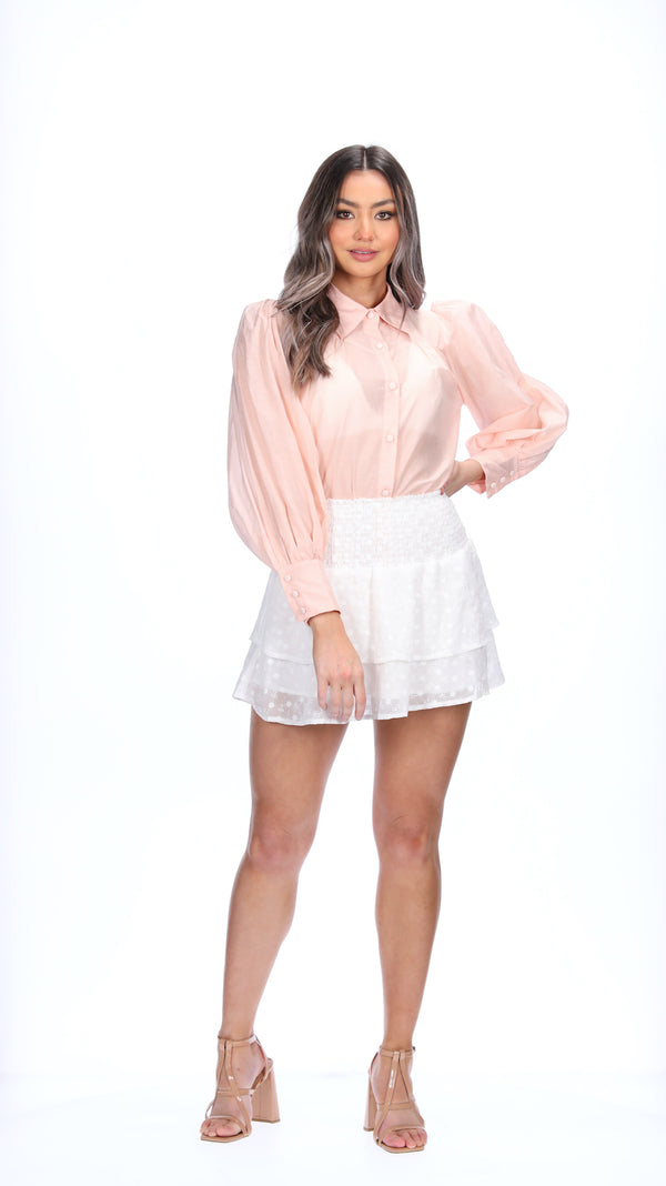 ADALEE TOP - BLUSH