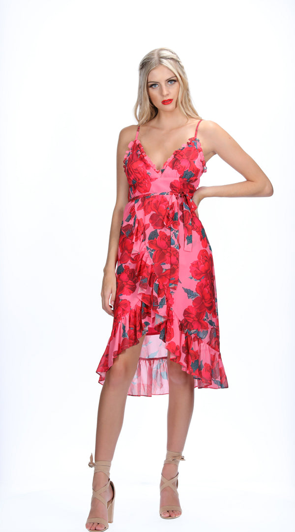ANA DRESS - ROSE BLOOM