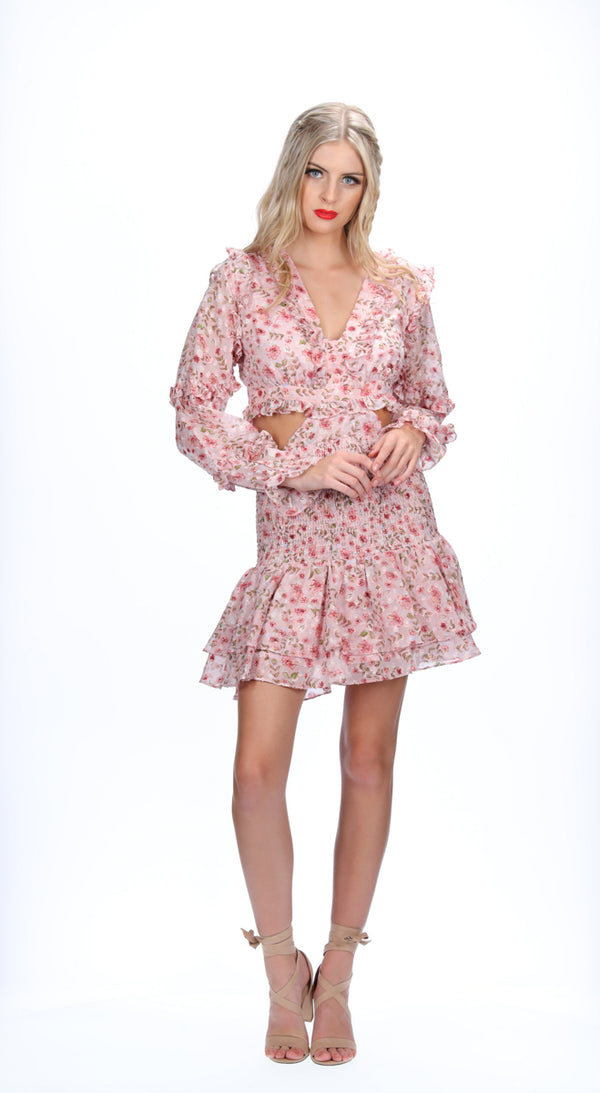 EDEN DRESS - PINK BLOSSOM
