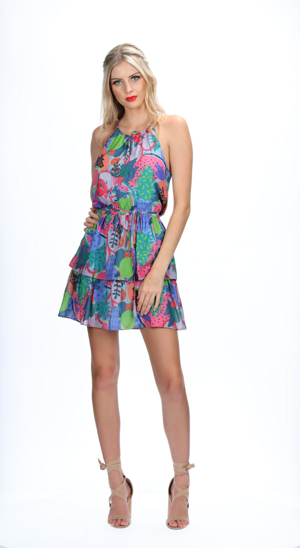 ELSIE DRESS - SUMMER PRINT