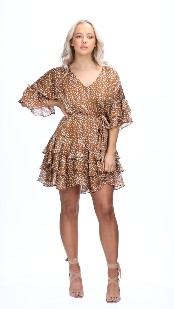 REMI DRESS - CHEETAH PRINT