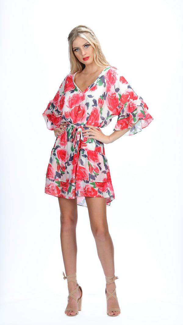 ESME DRESS - ROSE GARDEN